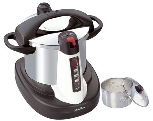 Manttra 39001 Chef-Xpress 8-Quart Stainless Steel Electric Multi-Cooker