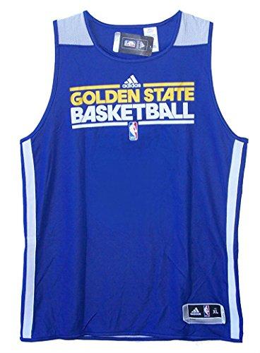 Adidas Golden State Warriors Basketball Reversible Practice Jersey ...