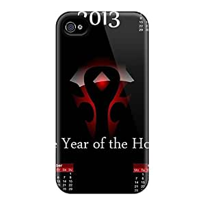 New Style TimothyMGonzalez 2013 Horde Calendar Premium Tpu Cover Case For Iphone 4/4s