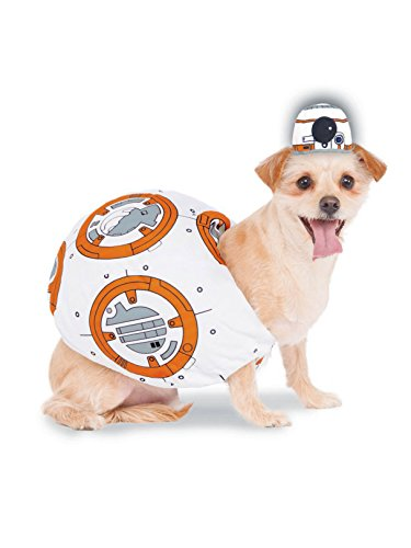 Rubie's Star Wars VII: The Force Awakens BB-8 Pet Costume, Small ()