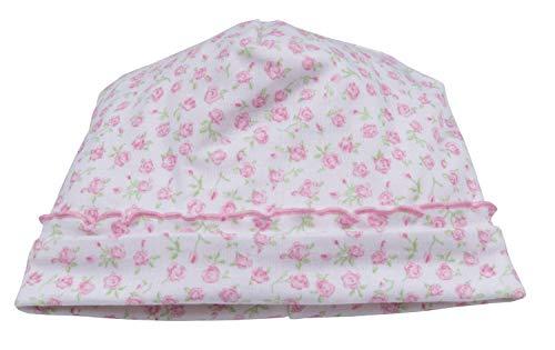 (Kissy Kissy Baby-Girls Infant Rambling Roses Hat-Pink-Newborn)