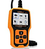 AUTOPHIX Code Reader OM126 OBDII OBD2 Scanner Car Engine Fault Code Reader Auto Check Engine Light CAN Automotive Diagnostic Scan Tool - Yellow