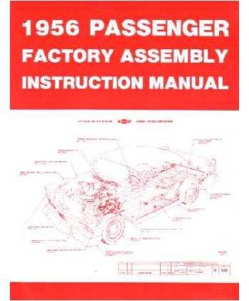 amazon com 1956 chevrolet assembly manual book rebuild automotive rh amazon com 1956 chevrolet shop manual 1956 chevrolet shop manual