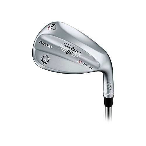 Titleist Vokey SM6 Tour Chrome Wedge Right 62 8 M Grind True Temper Dynamic Gold Wedge by Titleist