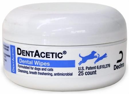 Dentacetic Dog (Dechra 25 Count Dentacetic Dental Wipes)