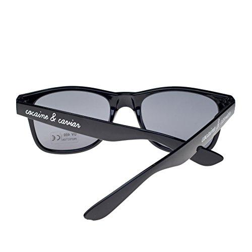 con ahumados Gafas ochentero sun unisex diseño sol 4sold TM coco de Negro cristales negro 6wYCHwIqx