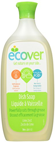 Ecover Dish Soap Lime Zest 739 mL (25 fl oz)