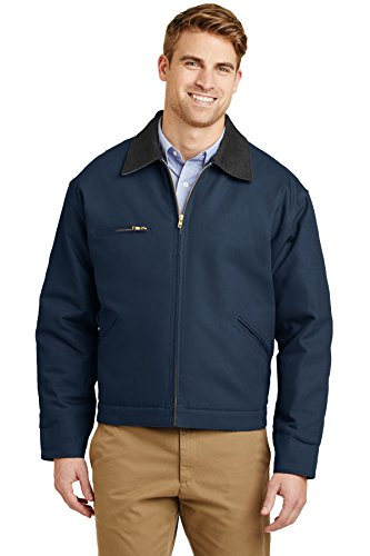 Jacket Work Cornerstone - CornerStone 174 - Duck Cloth Work Jacket. J763 2XL Navy/Black
