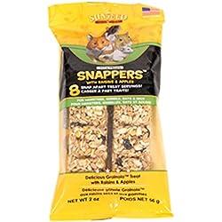 Sunseed Company 36049 Apple Raisin Vita Prima Snappers For Hamsters/Rats/Gerbils, 2 Oz
