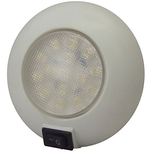 T-H Marine LED-51829-DP LED Surface Mount Dome Light (Dome Th)