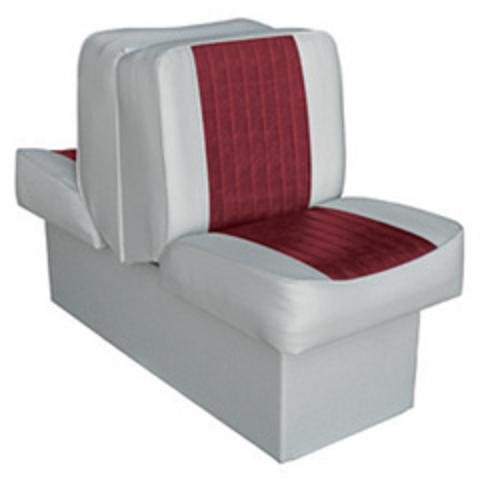 Wise 8WD707P-1-661 Deluxe Lounge Seat (Grey/Red)