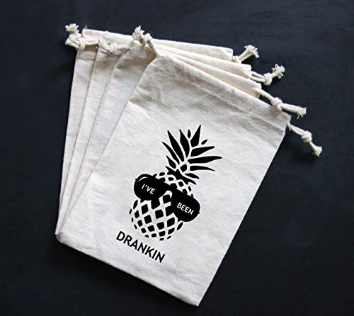 Summer Pineapple I've Been Drankin' Party Favor Bags