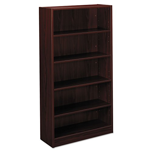 Credenza Bookshelf Top - HON BL Series Bookcase , 5 Shelves , 32