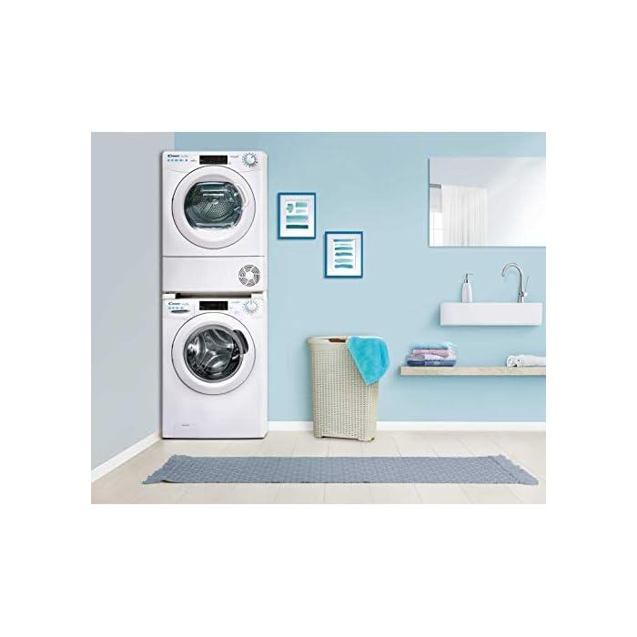 415K6tuonKL Haz clic aquí para comprobar si este producto es compatible con tu modelo Puerta XXL, grande y alta: Di adiós a los dolores de espalda mientras introduces la colada en la lavadora Lavadora conectada a NFC: Conecta tu lavadora con la App Simply-Fi y consigue unos ciclos optimos de lavado