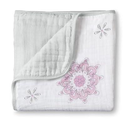 aden + anais de muselina para de Atrapasueños con texto en saco de dormir infantil,