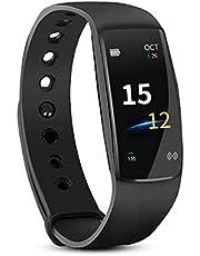 UMANOR Fitness Tracker mit Pulsmesser, Sport Activity Tracker Uhr, Wasserdichte Schrittzähler Uhr mit Schlaf Monitor, Schritt Tracker, Touchscreen Smart Armband für Kinder, Frauen und Männer