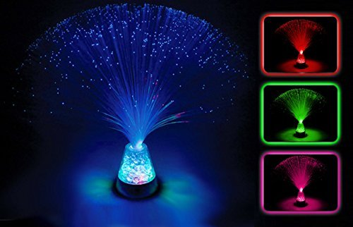 The Glowhouse Fibre Optic Ice Crystal Lamp 13 5 Brand Colour
