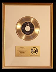 Elvis Presley Stuck On You 45 Gold Record Award RCA Records