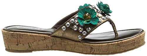 Grazie Women's Fierce Platform Sandal Bronze PlJbBNh