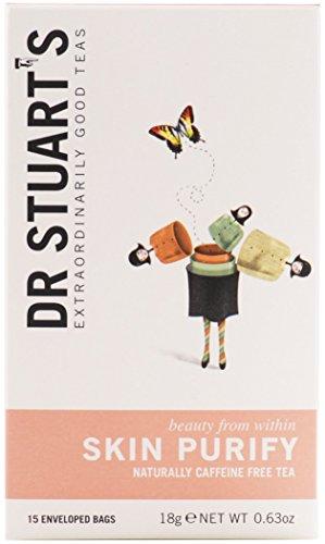 (NEW! Dr. Stuart's Herbal Teas Skin Purify 15 enveloped bags)
