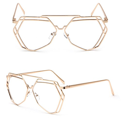 Itemap Vintage Men Women Eyeglass Round Frame Clear Full Rim Spectacles Eyewear Optical - Burberry Bans Ray