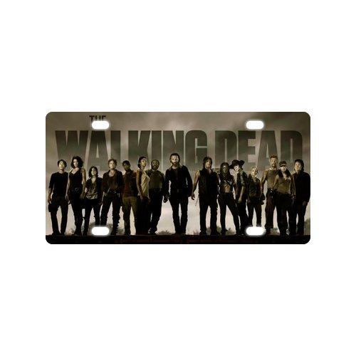 The Walking Dead Custom Fashion Metal Car License Plate 12