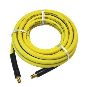 Interstate Pneumatics HA54-050E Yellow Rhino Rubber Hose 1/4 Inch x 50 Feet 300 PSI 4:1 Safety Factor