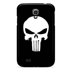 Premium Tpu The Punisher Logo Cover Skin For Galaxy S4
