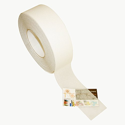 JVCC NS-2A Premium Non-Skid Tape: 2 in. x 60 ft. (Semi-Transparent/Translucent) by J.V. Converting (Image #4)