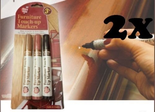 2-x-furniture-touch-up-marker-pen-wood-floor-scratch-repair-dark-and-light-brown-by-e-trade