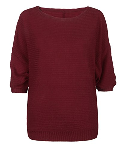 Tricot Automne Over Sweat Rond Shirt Souris Pull Sweat Manche Pull Hiver Col Chauve Bigood TqwOFpWYx