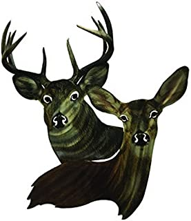 product image for Next Innovations Metal Wall Art - Deer Heads Wall Décor – Handmade in The USA for Use Indoors or Outdoors