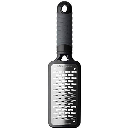 Microplane 35009 Home Series Medium Ribbon Grater, Black by Microplane