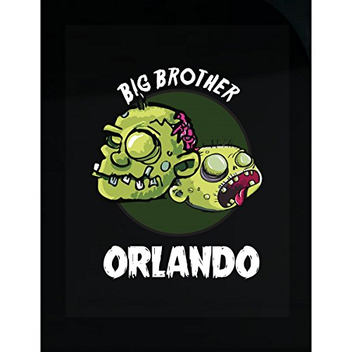 Prints Express Halloween Costume Orlando Big Brother Funny Boys Personalized Gift - Sticker -