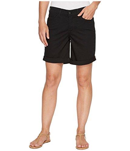 悪党手配する対話[エヌワイディジェイ] NYDJ レディース Jessica Boyfriend Shorts in Black パンツ [並行輸入品]
