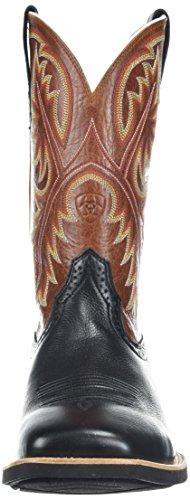 De Hombre Black Para Mosquetones Botas Y Ariat Deertan western Cinta Cowboy qFwfnRg