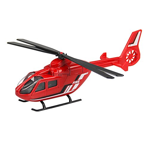 Diecast Helicopter - Diecast Fire Truck Toy 5