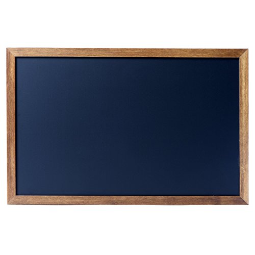 Cedar Markers 27''x20'' Chalkboard With Wooden Frame. 100% Non-Porous Erasable Blackboard and Whiteboard For Liquid Chalk Markers. Magnet Board Decorative Bulletin Board for Every Event (27x20) by Cedar Markers