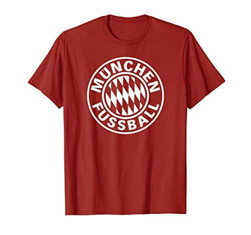 Bayern Football Soccer Fan Munich Fussball T-shirt