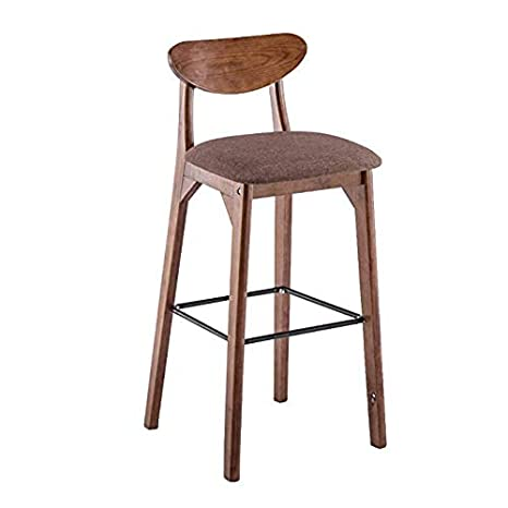Miraculous Amazon Com Cyhwdhw Wooden Bar Stool Counter Height Bar Dailytribune Chair Design For Home Dailytribuneorg