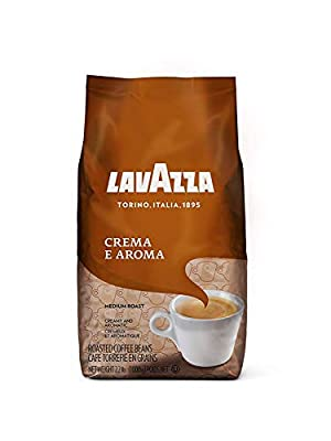 Lavazza Crema e Aroma Whole Bean Coffee Blend, Medium Roast, 2.2-Pound Bag from Lavazza