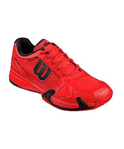 Wilson Rush Pro 2.0 Red, Zapatillas de Tenis para Hombre Rojo