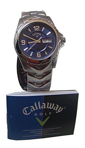 Callaway Men's CY2059 Golf Stainless Steel Blue Dial Quartz Watch
