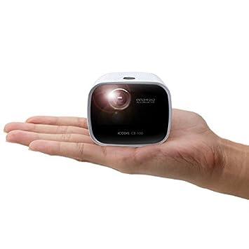 Amazon.com: iCODIS CB-100Pico proyector, mini smart ...