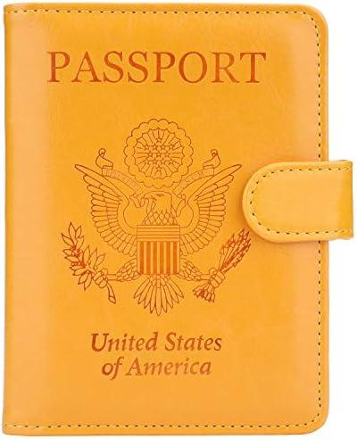 GDTK Leather Passport Holder Blocking