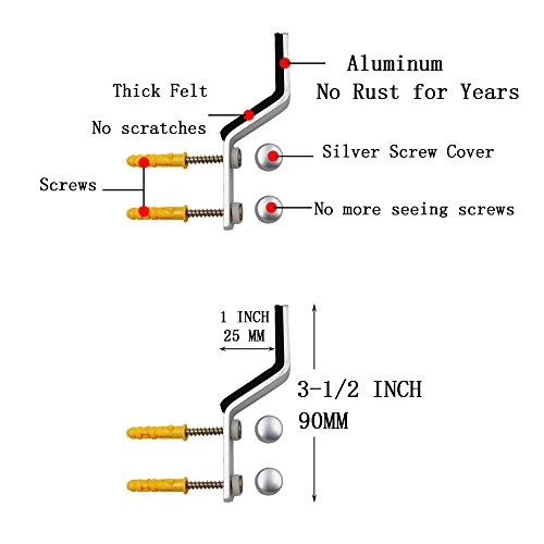 ABUS RSZS316/30512//°F1/EK Sicherheit Anit Piercing Cover Rosette f/ür T/ür Lock