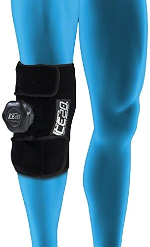 Refillable Ice Wraps - ICE20 Knee Ice Therapy Wrap, Single