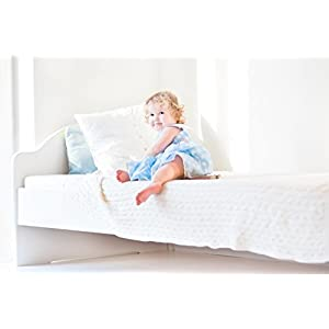 """Wonder Baby Saddle Style Children's Soaker Waterproof Mattress Pad & Sheet Protector – Soft, Comfortable, Lightweight Bedding – Absorbs 6 Cups – 34"""" x 36"""" for Twin Beds"""
