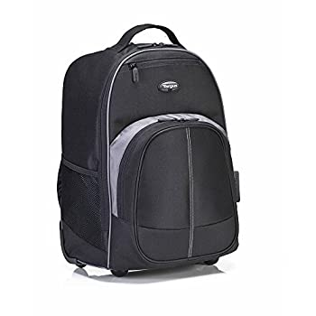 Targus Compact Rolling Backpack For 16-inch Laptops, Black (Tsb750us) 9