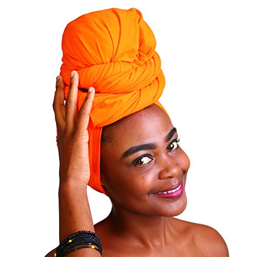- MCYSKK Long Knit Stretch Turban Head Wraps Headband Scarf Tie Headwear Solid Color